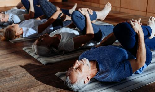 Kom til Yoga i Frivilligcenteret