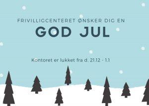 God jul -kontoret er åbent igen 2. januar!